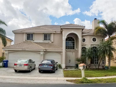 Coral Springs Single Family Home For Sale: 12332 NW 26 Street