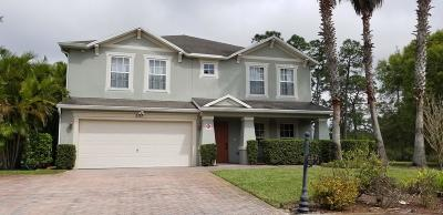Port Saint Lucie Single Family Home For Sale: 257 SW Becker Road