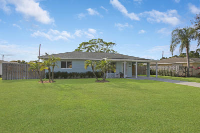 Jupiter Single Family Home Contingent: 1507 Summer Avenue