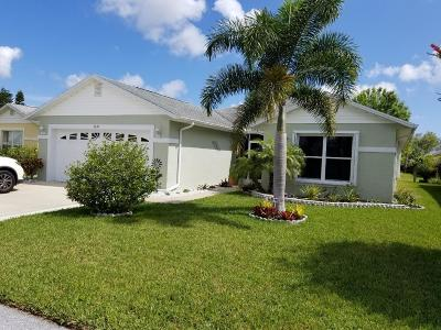 Fort Pierce Single Family Home For Sale: 6642 Gaviota