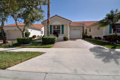 Delray Beach Single Family Home Contingent: 6210 Heliconia Road