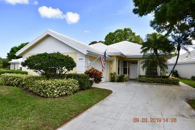 Palm Beach Gardens Single Family Home For Sale: 8660 Wakefield Drive