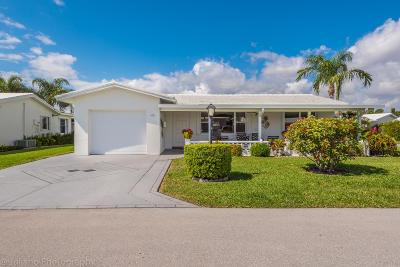 Boynton Beach Single Family Home For Sale: 1001 SW 15th Street