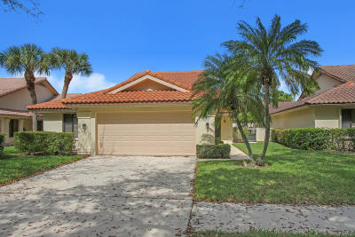West Palm Beach Single Family Home For Sale: 2865 Duquesne Circle