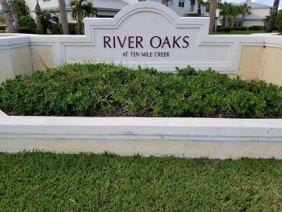 Fort Pierce Townhouse For Sale: 2534 Creekside Drive