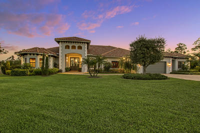 Jupiter Single Family Home For Sale: 18900 SE Crosswinds Lane