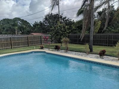 Port Saint Lucie FL Single Family Home Sold: $195,000