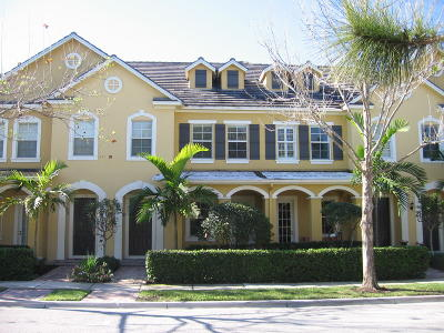 Jupiter Townhouse For Sale: 106 Tallow Trail