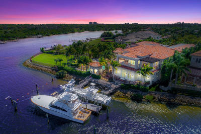 Jupiter FL Single Family Home For Sale: $11,950,000