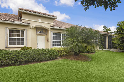 West Palm Beach Single Family Home For Sale: 8395 Nicholls Point