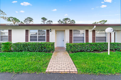 Delray Beach Single Family Home For Sale: 5132 Petal Place #C