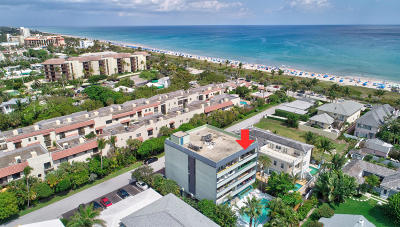 Delray Beach Condo For Sale: 1112 Ocean Terrace #4a