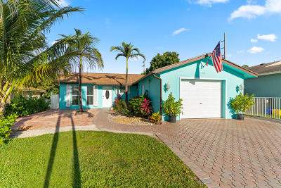 Lake Worth Single Family Home For Sale: 442 Griswold Drive
