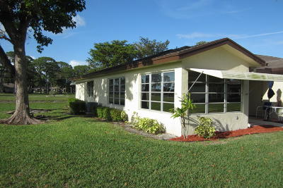 Delray Beach Single Family Home For Sale: 14050 Nesting Way #A