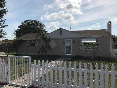 Lake Worth Single Family Home For Sale: 1112 S G Street