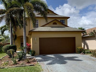 West Palm Beach Single Family Home For Sale: 1251 Winding Rose Way