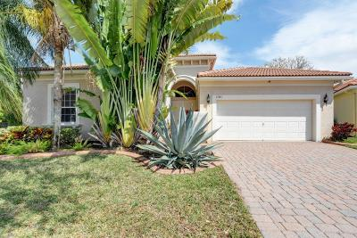West Palm Beach Single Family Home For Sale: 8341 Mastic Cay