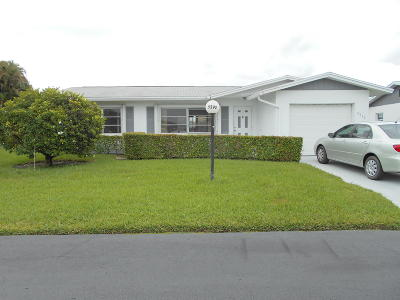 West Palm Beach Single Family Home Contingent: 5392 Belleville Road