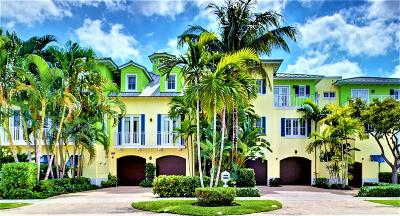 Delray Beach Townhouse For Sale: 1218 George Bush Boulevard