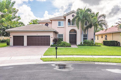 Lake Worth Single Family Home For Sale: 4006 Cedar Ranch Circle