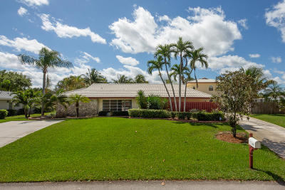 Palm Beach Gardens Single Family Home For Sale: 4158 Oak Street