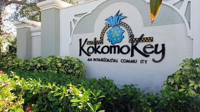 Delray Beach Townhouse For Sale: 852 Kokomo Key Lane