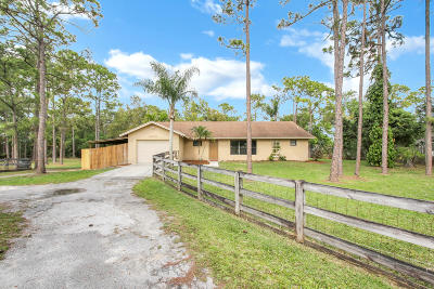 West Palm Beach Single Family Home For Sale: 12649 55th Road