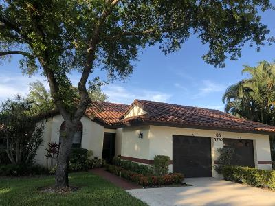 Boynton Beach Single Family Home For Sale: 5797 Brook Bound Lane #A