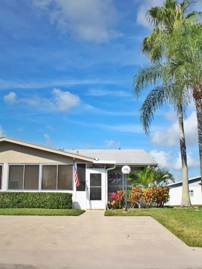 West Palm Beach Single Family Home For Sale: 3371 Americo Drive