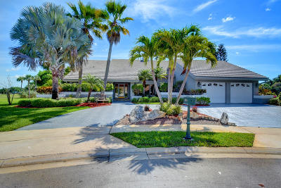 Boca Raton Single Family Home For Sale: 10714 River Glenn Drive