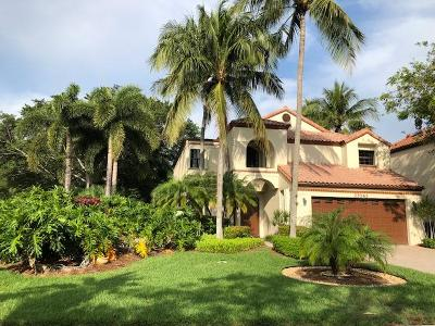 Boca Raton Single Family Home For Sale: 23343 Mirabella Circle