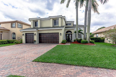 Royal Palm Beach Single Family Home For Sale: 122 Tuscany Drive