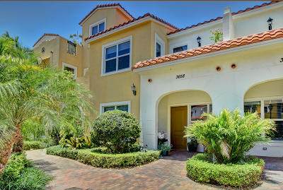 West Palm Beach Townhouse For Sale: 3658 Voaro Way