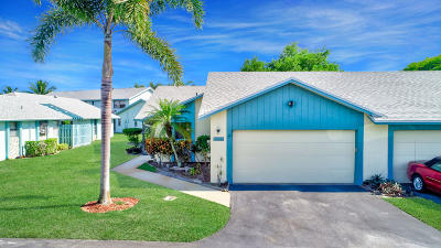 Boca Raton FL Single Family Home For Sale: $249,900