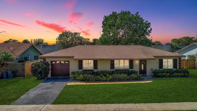 Boca Raton Single Family Home For Sale: 19487 Delaware Circle
