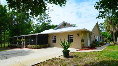 Single Family Home For Sale: 6289 S Header Canal Road