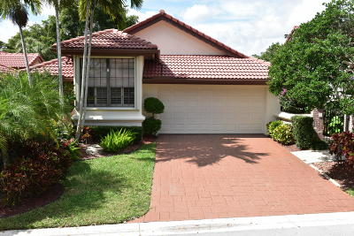 Boca Raton Single Family Home For Sale: 21735 Club Villa Terrace