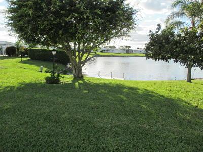 Boynton Beach Single Family Home For Sale: 1115 Florentine Way