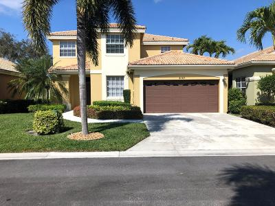 West Palm Beach Single Family Home For Sale: 8167 Quail Meadow Way