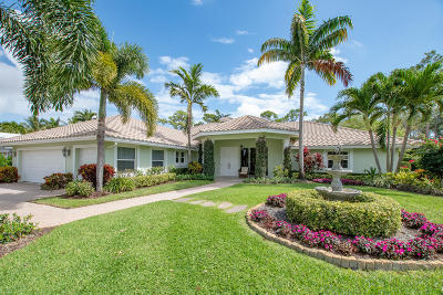 Boynton Beach Single Family Home For Sale: 11828 Dunes Road