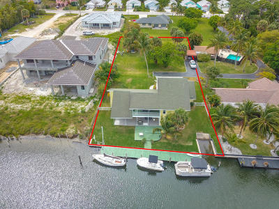 Jupiter Single Family Home For Sale: 109 Old Jupiter Beach Road
