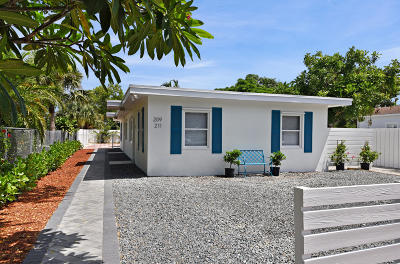 Delray Beach Multi Family Home For Sale: 209 NE 13th Street