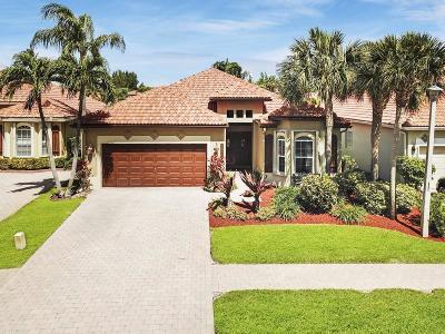 Boynton Beach Single Family Home For Sale: 4869 Tropical Garden Drive