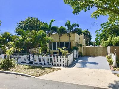 West Palm Beach Single Family Home For Sale: 808 Lytle Street
