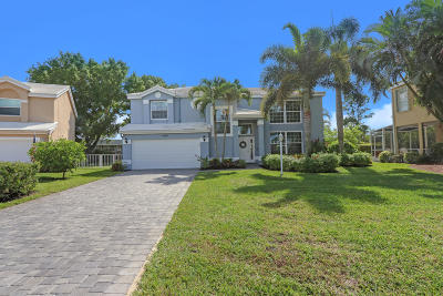 Tequesta Single Family Home Contingent: 9189 SE Deerberry Place