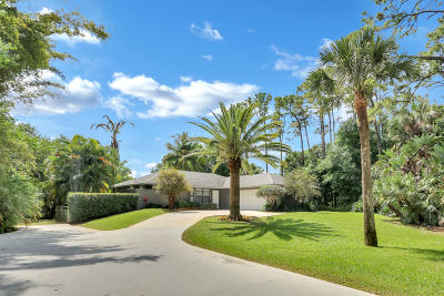 Jupiter Single Family Home For Sale: 10548 159th Court