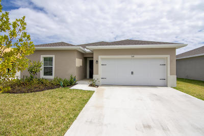 Fort Pierce Single Family Home For Sale: 5345 Oakland Lake Circle