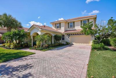 Jupiter Single Family Home For Sale: 109 Via Azurra