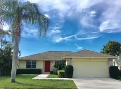 Jupiter Single Family Home For Sale: 159 Stillwater Circle