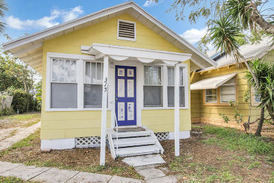 Lake Worth Multi Family Home For Sale: 315 K Street